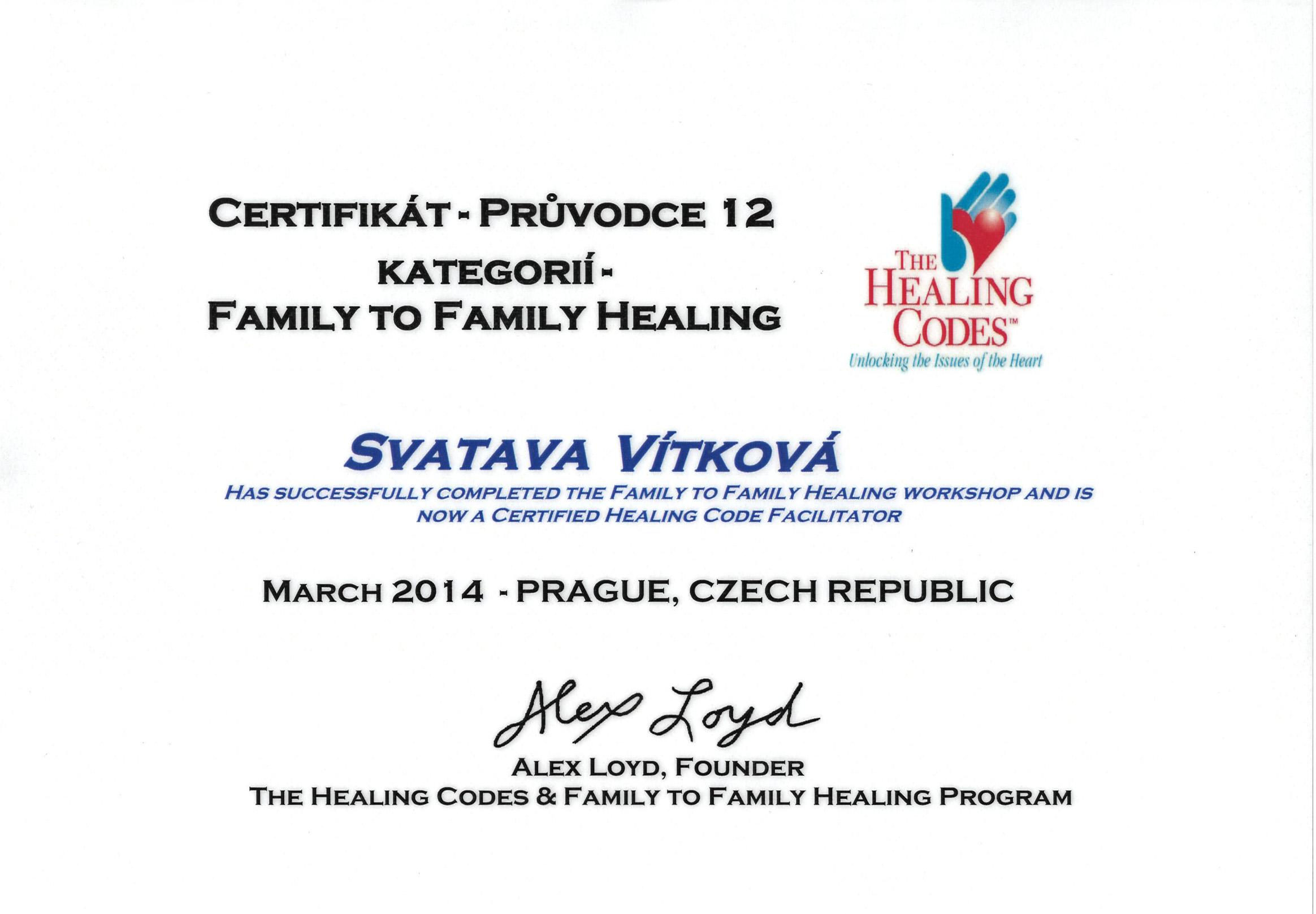 LK Certifikát